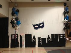 Wall decoration | Prom - masquerade in the city | Pinterest | Wall ...
