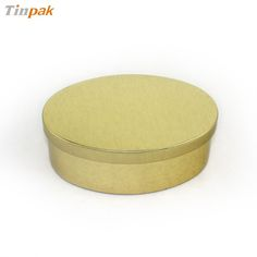 oval pet food tin canister factory