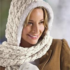 Hoodlet Scarf, Scarf with Built-in Hood, Hood Scarf | Solutions