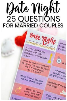 Valentines Day Date Night Questions These date night ideas for married couples are so much fun! Grab a tasty glass of the new drink and dow. Question Games For Couples, Drinking Games For Couples, Questions For Married Couples, Date Night Ideas For Married Couples, Couple Questions, This Or That Questions, Love Games For Couples, Conversation Starters For Couples, Fun Couple Games