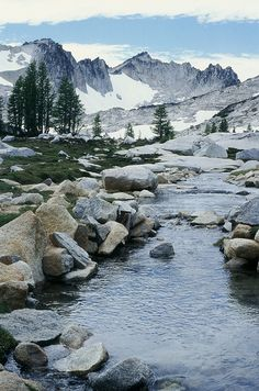 The Enchantments, Washington by Elias and Theresa Carlson via http://www.flickr.com/photos/eccarlson/8102822049/