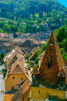 Count Dracula's birthplace, Sighisoara, Romania