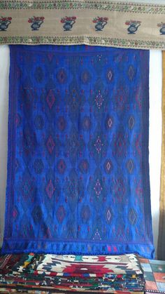 8ft-5.5ft Turkish kilim Rug -Vintage kilim Rug - Anatolian kilim Rug hand made Kilim Rug embroidery kilim technic by Ayasofyahandicraft on Etsy https://www.etsy.com/listing/291449591/8ft-55ft-turkish-kilim-rug-vintage-kilim