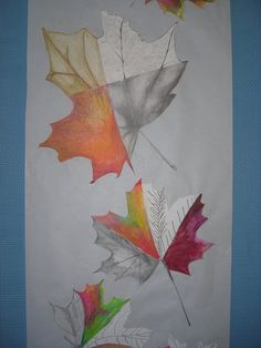 listy - kresba