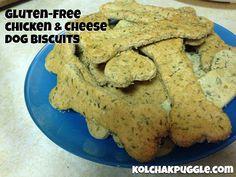gluten free chicken and cheese dog treat recipe