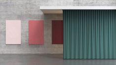Produkte für akustische Optimierung - Optimale Raumakustik und Schallschutz Corporate Design, Planer, Curtains, Home Decor, Sound Proofing, Simple Machines, Room Interior Design, Products, Blinds