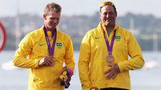 Robert Scheidt and Bruno Prada - bronze medal - UOL Olimpíadas 2012 (uol.com.br)
