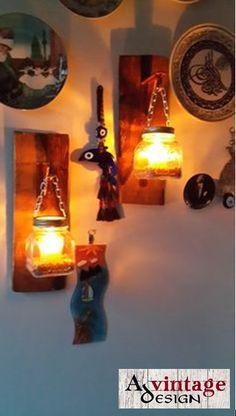 Avintage Design Candle Holders