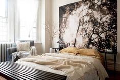 10 Ways to Make a Big Bedroom Feel Cozy | Apartment Therapy Apartment Needs, Parisian Apartment, Cozy Apartment, Apartment Therapy, Queen Bedroom, Cozy Bedroom, Bedroom Decor, Bedroom Ideas, Large Bedroom