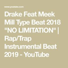 0899d5c332726b Drake Feat Meek Mill Type Beat 2018