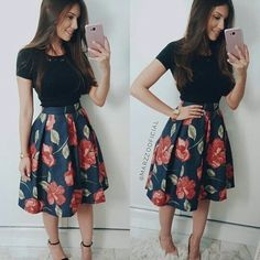 ,notitle - rock outfits,,My pins Modest Outfits, Simple Outfits, Classy Outfits, Casual Outfits, Cute Outfits, Rock Outfits, Floral Skirt Outfits, Jw Fashion, Modest Fashion