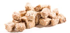 DogTreats- 4 cups rolled oats 2 Tbsp ground flax seed 2 medium very ripe bananas 1/2 cup natural (no sugar or shortening added) peanut butter 1/2 cup water Preheat oven to 375 degrees.