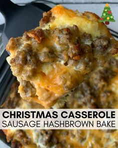 Christmas Casserole, Sausage Hashbrown Breakfast Casserole is a filling, hearty . - breakfast - Christmas Casserole, Sausage Hashbrown Breakfast Casserole is a filling, hearty and delicious way to - Breakfast Desayunos, Breakfast Dishes, Recipes With Breakfast Sausage Dinner, Easy Breakfast Food, Tasty Breakfast Recipes, Night Before Breakfast, Yummy Breakfast Ideas, Southern Breakfast, Easy Brunch Recipes