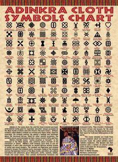 Adinkra Symbols. Think I'll make some stamps w. the kids.