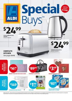 aldi special buys week 5 2016 has been published  it contains easter cookies bathroom products sleepwear for ladies kitchen appliances  aldi catalogue specials 10   16 february 2016   http      rh   pinterest com