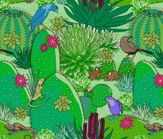 Spoonflower Fabric of the week voting: National parks