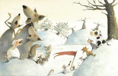иллюстратор jennifer a. Winter Illustration, Illustrators, Fairy Tales, Doodles, Children Books, Cartoon, Picture Books, Naive, Cool Stuff
