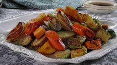 Get this all-star, easy-to-follow Roasted Vegetables with Balsamic Glaze recipe from Trisha Yearwood