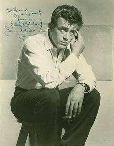 James Dean signature