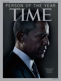 President Obama at Time Magazine's Person of the Year