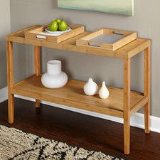Parker Console Table with Trays