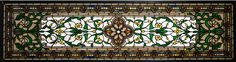 """45.5 Inch W X 10.5 Inch H Versaille Transom Stained Glass Window. 45.5 Inch W X 10.5 Inch H Versaille Transom Stained Glass Window Theme:  VICTORIAN TIFFANY ARTS & CRAFTS ART GLASS Product Family:  Versaille Transom Product Type:  WINDOWS Product Application:   Color:  CUSTOM Bulb Type:  Bulb Quantity:   Bulb Wattage:   Product Dimensions:  12.75""""H x 48""""WPackage Dimensions:  NABoxed Weight:  7 lbsDim Weight:  115 lbsOversized Shipping Reference:  NAIMPORTANT NOTE:  Every Meyda Tiffany item…"""