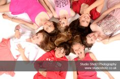 Group Party Photo Shoots at Studio Shotz Photography in Bournemouth, Dorset