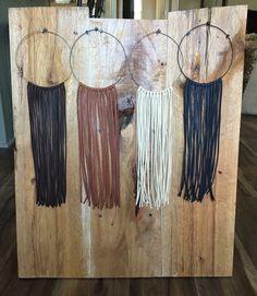 Long fringe choker necklace by GypsyGiraffeCreation on Etsy