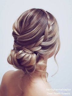 Long wedding hairstyles and updos from hairbyhannahtaylor - Frisuren - Hochsteckfrisur Curly Wedding Hair, Long Hair Wedding Styles, Wedding Hair Down, Wedding Hairstyles For Long Hair, Box Braids Hairstyles, Wedding Hair And Makeup, Bride Hairstyles, Bridal Hair, Cool Hairstyles