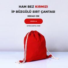Ham bez kırmızı ip büzgülü sırt çantası baskısız siparişlerinizi istecanta.com üzerinden verebilirsiniz. Baskılı olarak sipariş vermek için tasarımınızı destek@istecanta.com mail adresine iletebilirsiniz. #bezcanta #beztorba #sirtcantasi #kirmizi #toptan #totebag