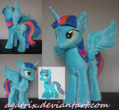 OC Dezzie plush by agatrix.deviantart.com on @DeviantArt