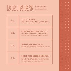 some autumnal alc bev's 🥃🍂 has been on heavy rotation around here — i recommend! Gfx Design, Layout Design, Logo Design, Layout Inspiration, Graphic Design Inspiration, Design Poster, Print Design, Corporate Design, Typography Design