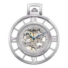 @Overstock - Stuhrling Original Men's Ancestor Silver Mechanical Pocket Watch - Stuhrling Original?s Ancestor can be found in the Special Reserve Collection. This beautiful pocket watch is equipped with an ST-90071 mechanical movement that is decorated with deeply engraved scrollwork.  http://www.overstock.com/Jewelry-Watches/Stuhrling-Original-Mens-Ancestor-Silver-Mechanical-Pocket-Watch/8502938/product.html?CID=214117 $174.99