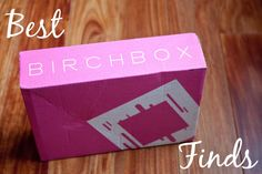 Best Birchbox Finds: my favorite Birchbox samples that became my beauty staples, including hair, eye, and makeup products.