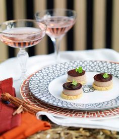 Australian Gourmet Traveller recipe for duck liver pâté with cassis jelly and brioche croûtons.