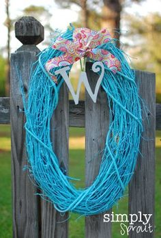 Fun Spring Craft Activity- Make your own Grapevine Wreath. Directions on Frugal Coupon Living.