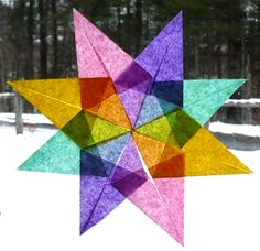 how to make ukrainian Christmas star