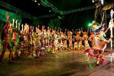 Mais de 100 grupos folclóricos participam da programação no Centro Cultural Povos da Amazônia