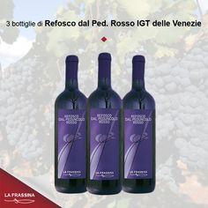 confezione 6 Refosco dal Peduncolo Rosso delle Venezie | La Frassina - Vendita online vini rossi e rosati
