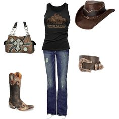 Gone Country!, created by ellielg on Polyvore