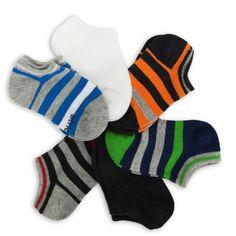 Stride Rite Sport Stripe No Show Sock 6-Pack #VonMaur