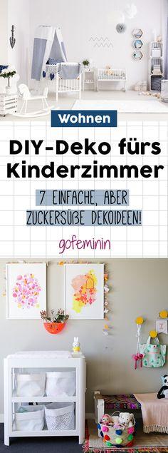Zuckersüß & ratzfatz: 7 Ideen für selbstgemachte Kinderzimmer-Deko