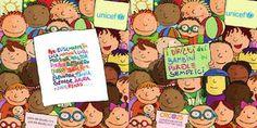 I diritti dei bambini in parole semplici  Comunicare anche ai più piccoli i principi sanciti dalla Convenzione sui diritti dell'infanzia e dell'adolescenza, attraverso parole semplici e disegni divertenti. Le parole, i disegni, i colori, la carta di questa pubblicazione sono pensati per parlare ai bambini.