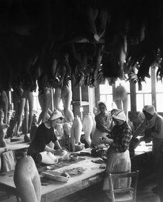 Robert Doisneau. Mannequin factory
