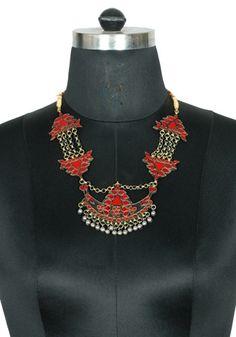 Tribal Afghan Necklace design 21 – Desically Ethnic
