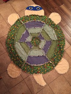 Quilting Projects, Sewing Projects, Crochet Turtle, Baby Rag Quilts, Tie Blankets, Loom Knitting Projects, Animal Quilts, Rag Rugs, Granddaughters