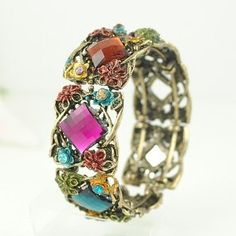 Cute! Fashion Acrylic Retro Style Bracelet
