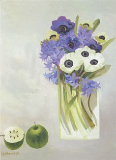 'Hyacinths and Anemones' by Mary Fedden (B316)