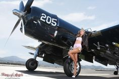 Collection of Aviation Pin Up and Nose Art copyrights belong to their respective owners. Ww2 Aircraft, Military Aircraft, F4u Corsair, Airplane Art, Ww2 Planes, Pin Up Photography, Pin Up Models, Nose Art, Aviation Art