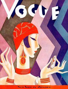 Vogue July 1926, illustration by Eduardo Garcia Benito